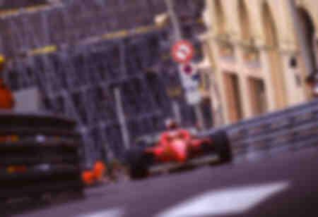 Michael Schumacher Ferrari F1 Monaco 1998