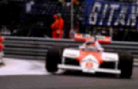 Niki Lauda Mac Laren F1 Monaco