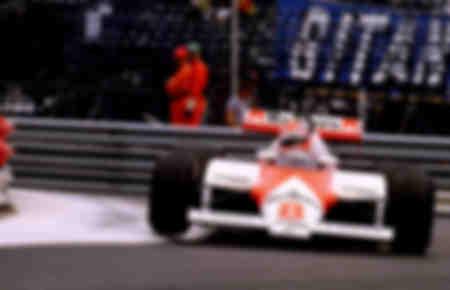 Niki Lauda Mac Laren F1 Mónaco