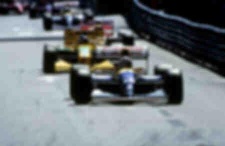 Schocktrio Prost Schumacher Senna