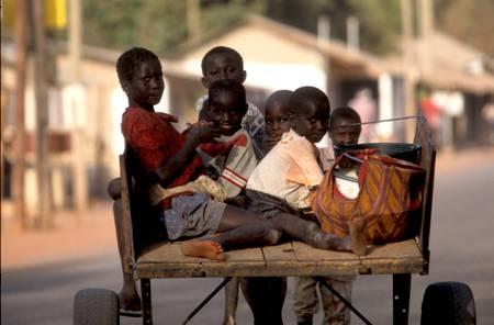 Afrique scène de vie