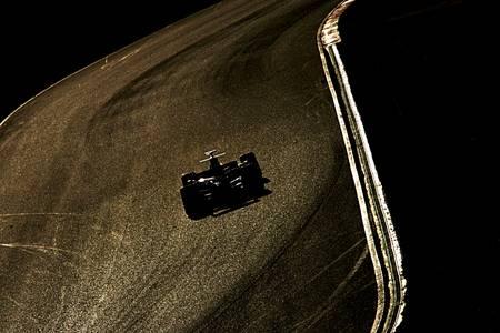 Gilding for Lewis Hamilton F1