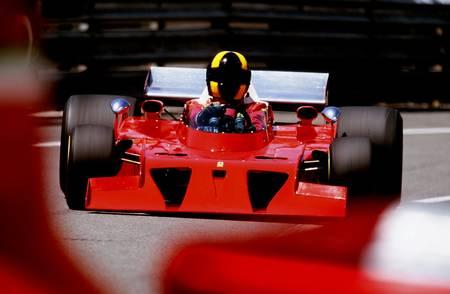 Ferrari et le tracteur