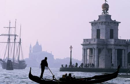 Grand canal et gondole