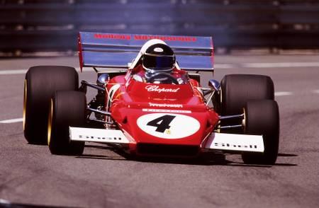 Jacky Ichx Ferrari Monaco