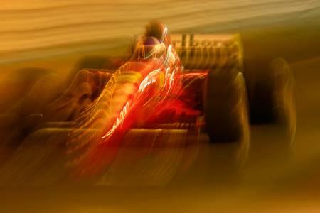 Jean Alesi Ferrari tunnel Monaco