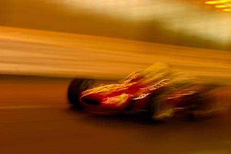 Jim Clark Ferrari tunnel Monaco