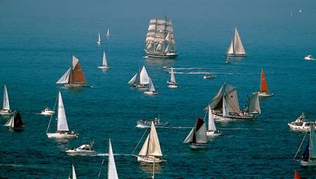 La flotte en marche