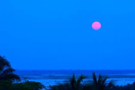 lever de lune Benin