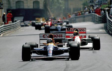 Mansell Senna Prost