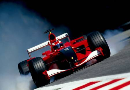 Monza 2001 in red and black tribute to twins center