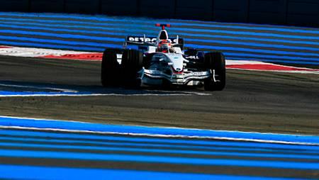 Rayures et Formule 1