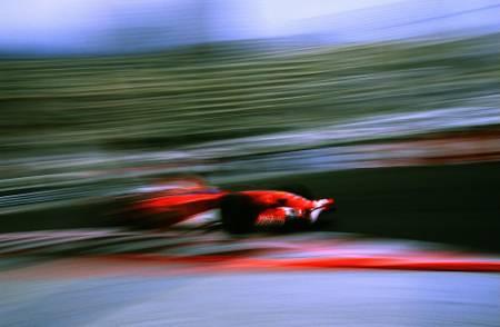 Rubens Barrichello Ferrari Monaco