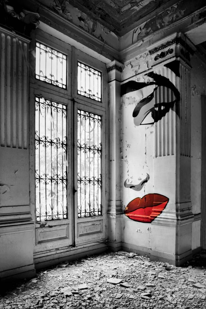 Photo noir et blanc architecture et monuments achat for Architecture noir et blanc