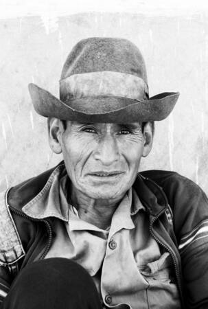 The man of Ayacucho