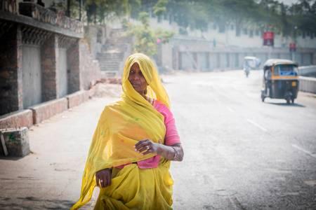 Le jaune d Udaipur
