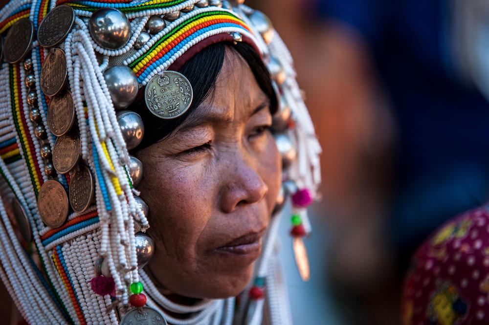 Femme Akha Dans Le Triangle D Or Birman 1