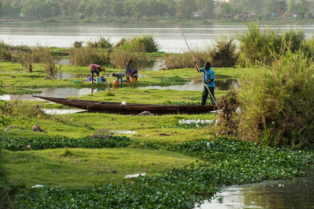 Fleuve Niger A Bamako