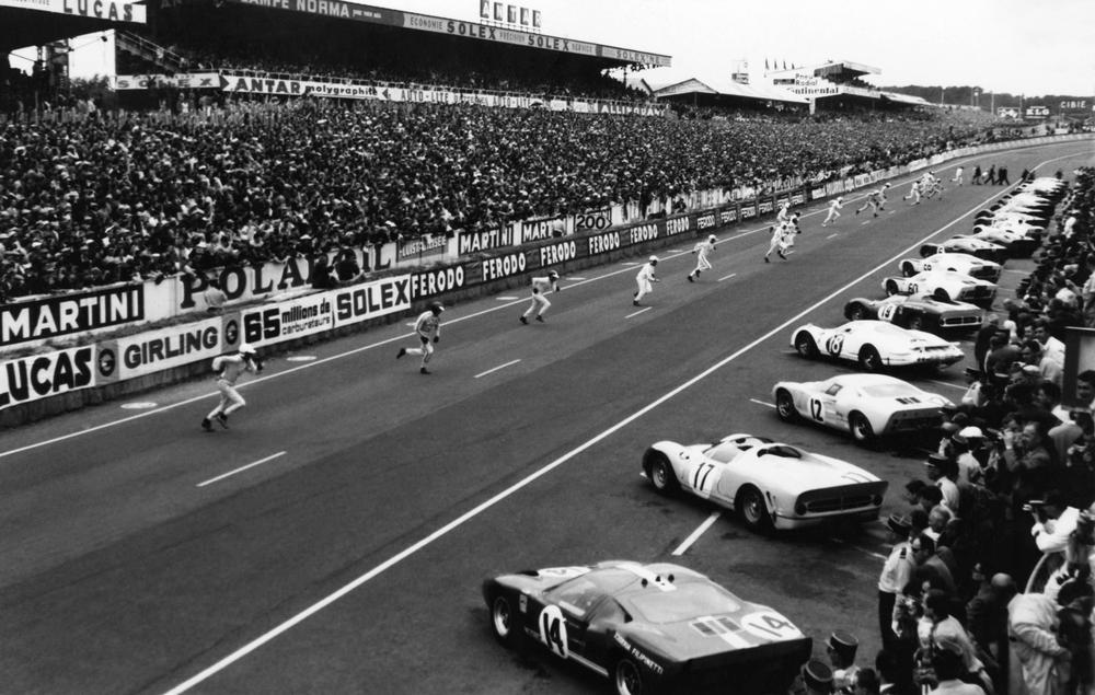 Depart Des 24 Heures Du Mans En 1966