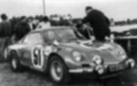 24 Hours of Le Mans 1968 ALPINE A110