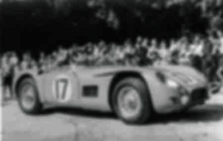 24 Hours of Le Mans 1956 TALBOT LAGO MASERATI ENGINE