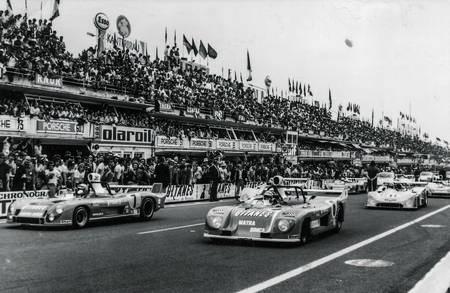 24 Heures du Mans 1974. DÉPART