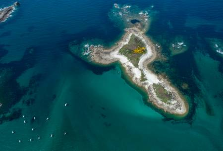 Aux abords de l' île Grande