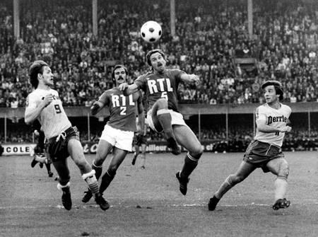 Demi finale Nantes-Saint Etienne 1977 2