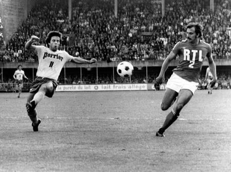 Demi finale Nantes-Saint Etienne 1977