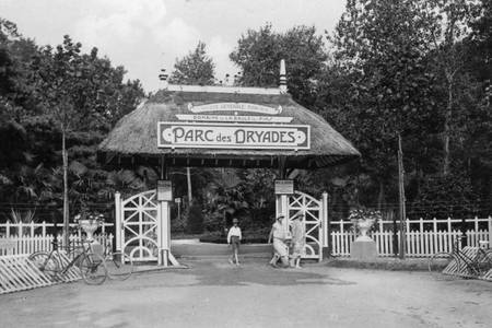 Entrance to the Dryades Park in La Baule