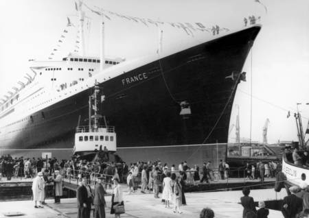 Inauguration of the liner France