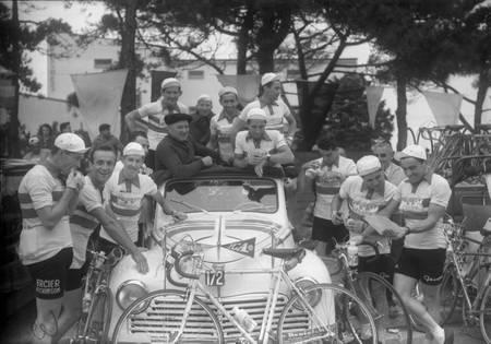 L'équipe de l'Ouest sur le Tour 1958
