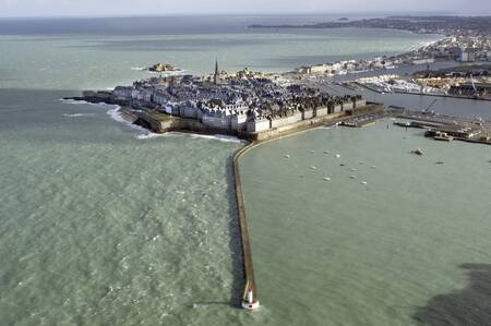 The big tide at Saint-Malo