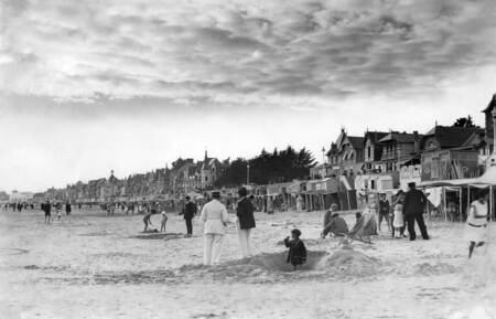 La plage de La Baule durant la Belle Epoque