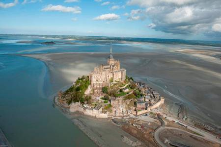 Mont Saint-Michel its abbey church and its bay