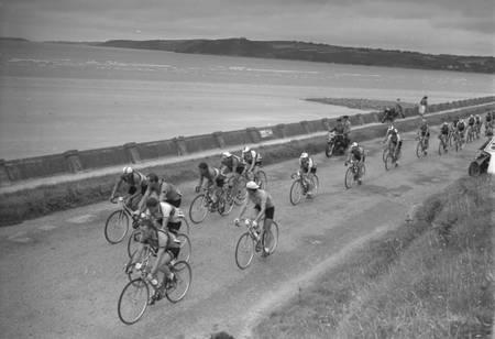 Le Tour 1954 à Plestin-les-Grèves