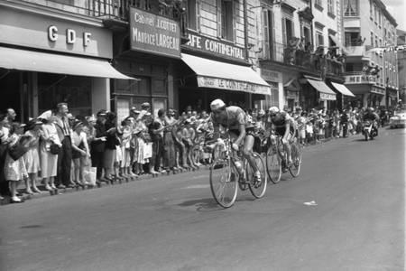 Le Tour 1956 à Cholet