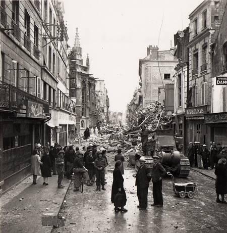 Libération de Caen en 1944