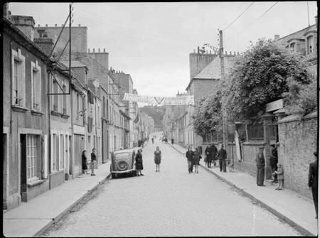Libération de Cherbourg en juin 1944