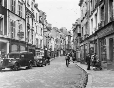 Rue du faubourg Saint Michel à Angers