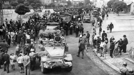 Sablé sur Sarthe en août 1947