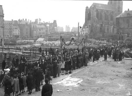 Ville de Saint-Malo dans les années 1950