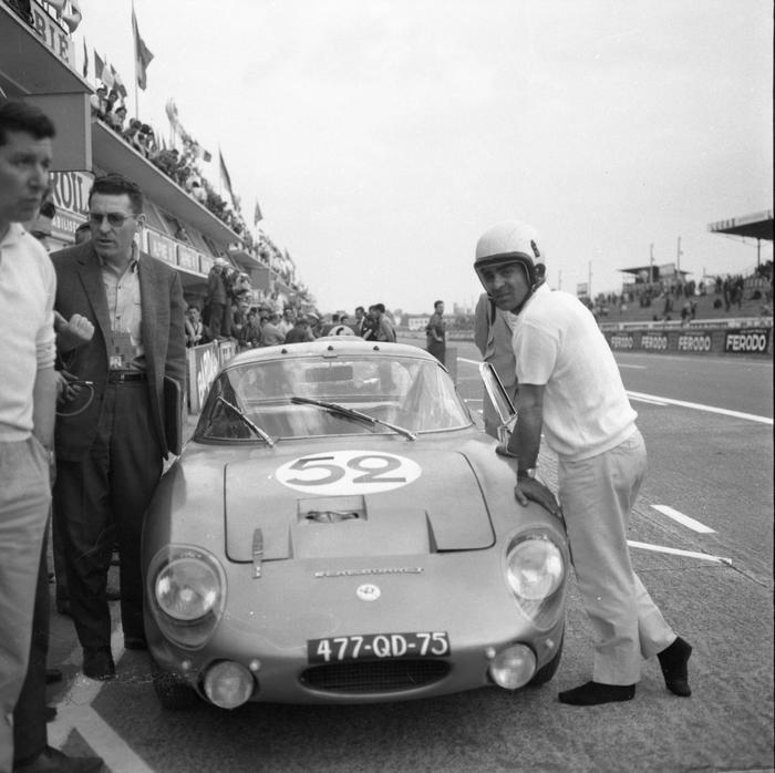 24h Du Mans Essais En 1964
