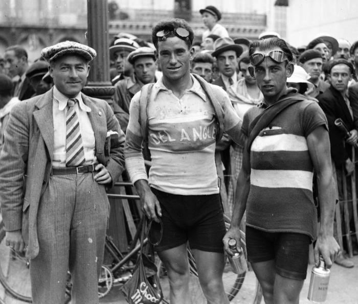 Portraits De Coureurs Sur Le Tour 1933