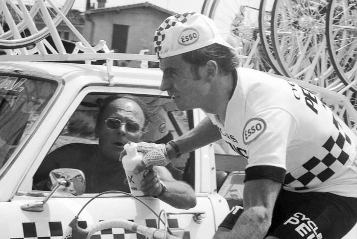 Regis Delepine Sur Le Tour De France 1976