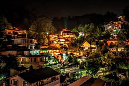A night in Kandy