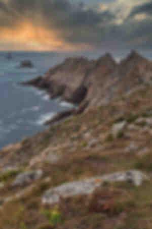 Tramonto sulla Pointe du Raz