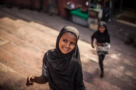 Joli sourire indien