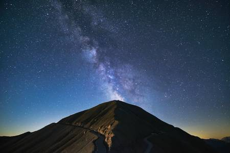 Eruption d'étoiles