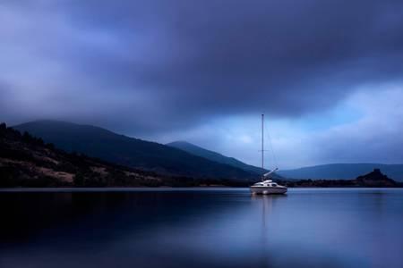 Lac du Salagou le calme
